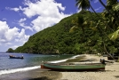 Soufriere Harbour Beach